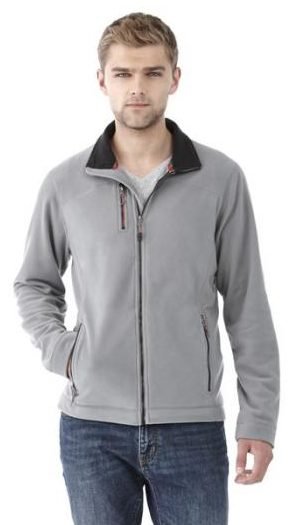 Pitch microfleece jacket for men