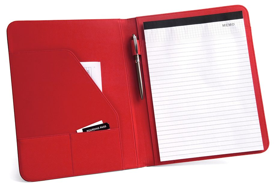 A4 folder with notepad - FITZGERALD