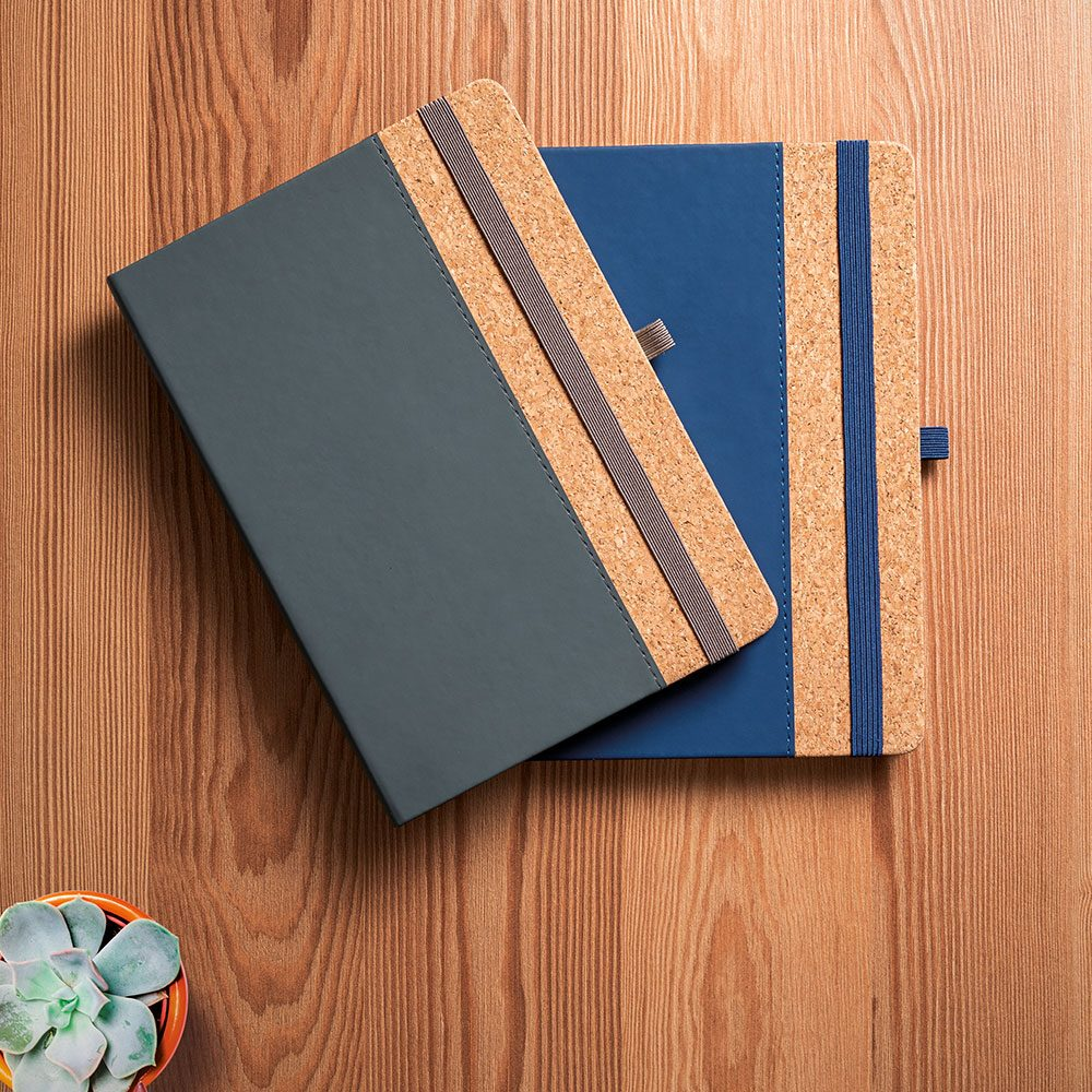 Notepad with cork lined cover - TORDO