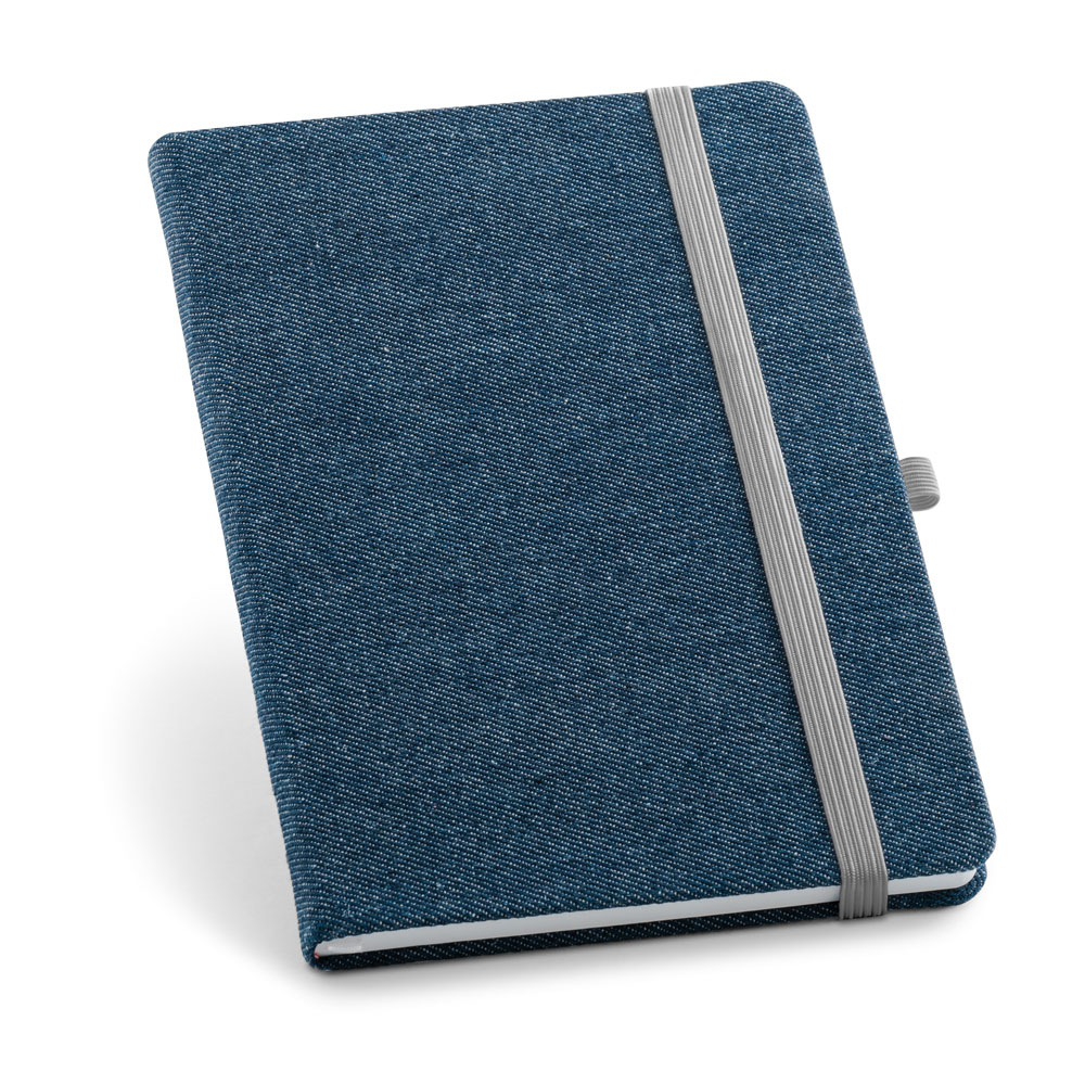 Notepad with denim fabric cover - DENIM