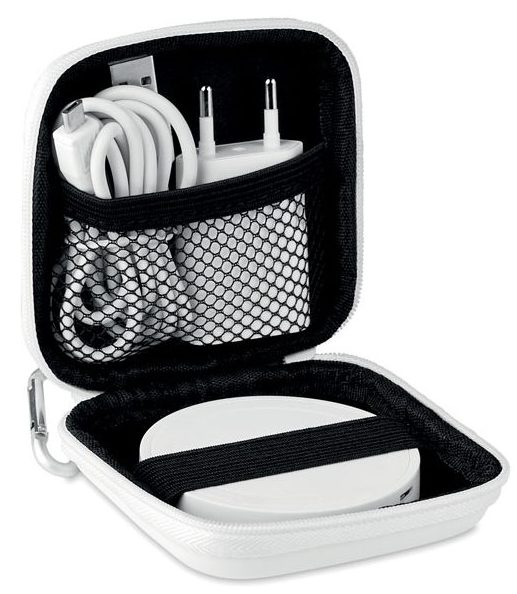 Set Cargador Inalámbrico En ABS - Wireless Plato Set