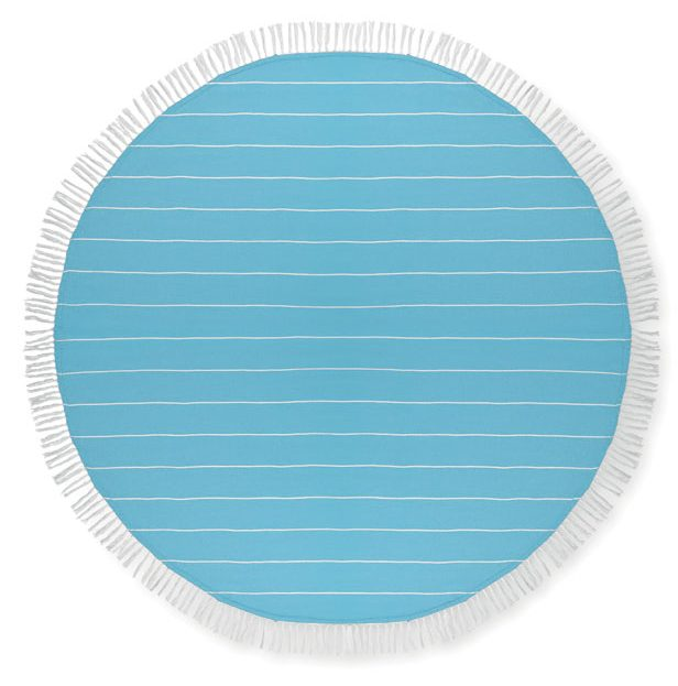 Cotton Hammam Towel - Round Malibu