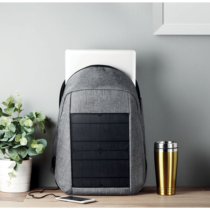 Backpack with solar charging - TOKYO SOLAR