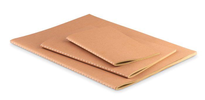 Bloco A5 com Capa de Cartão - Mid Paper Book