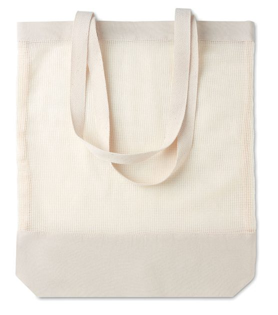 Mesh Cotton Shopping Bag - Mesh Bag