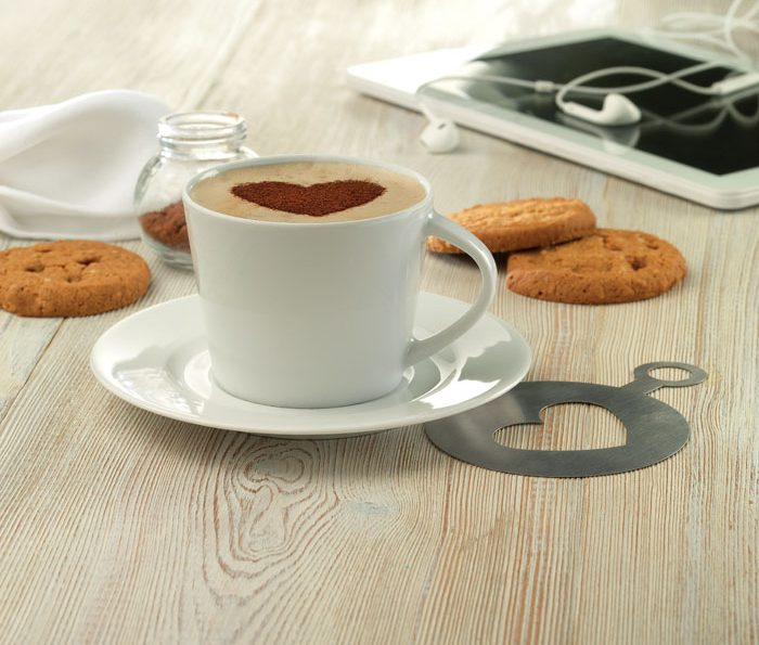 Cappuccino Cup And Saucer - Paris
