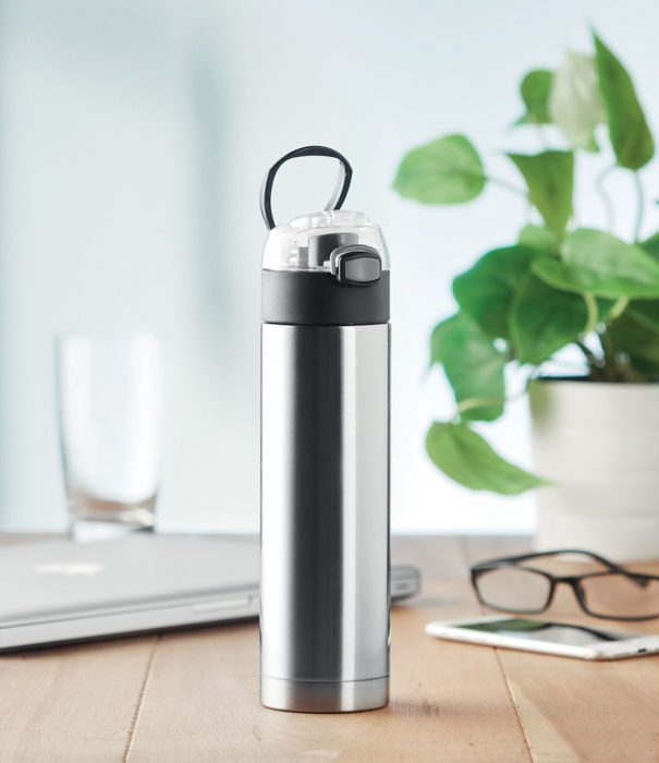 Security lock SS bottle - NUUK LUX