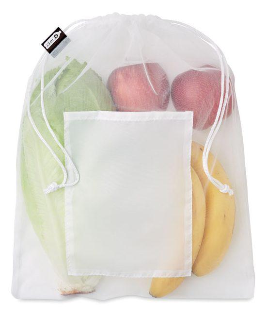 Mesh RPET food bag - VEGGIE RPET