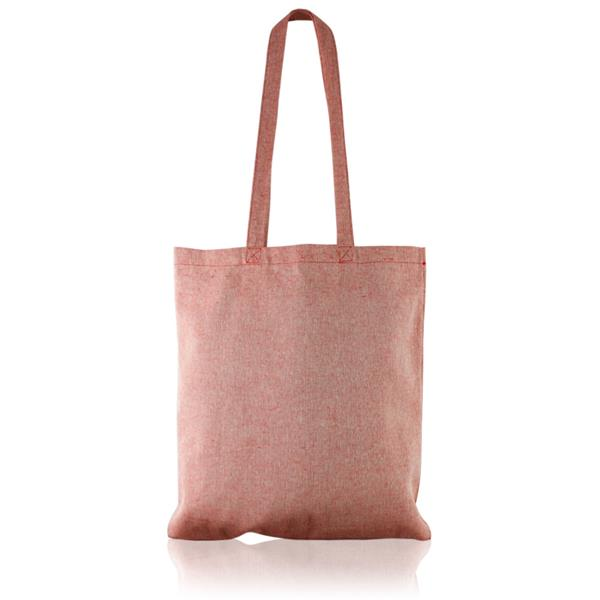 150g recycled  Long handle cotton bag