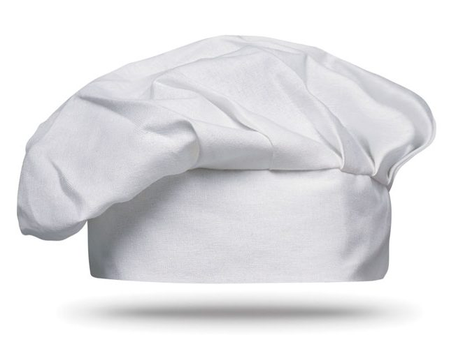 Cotton chef hat 130 gsm - CHEF