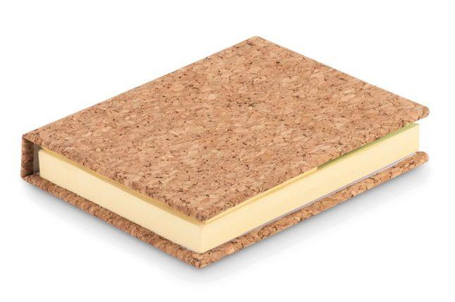 Cork Sticky Note Memo Pad - Visioncork