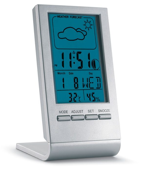 Weather station with blue LCD - Sky