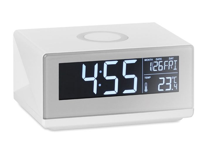 LED clock & wireless charger - Sky Speaker