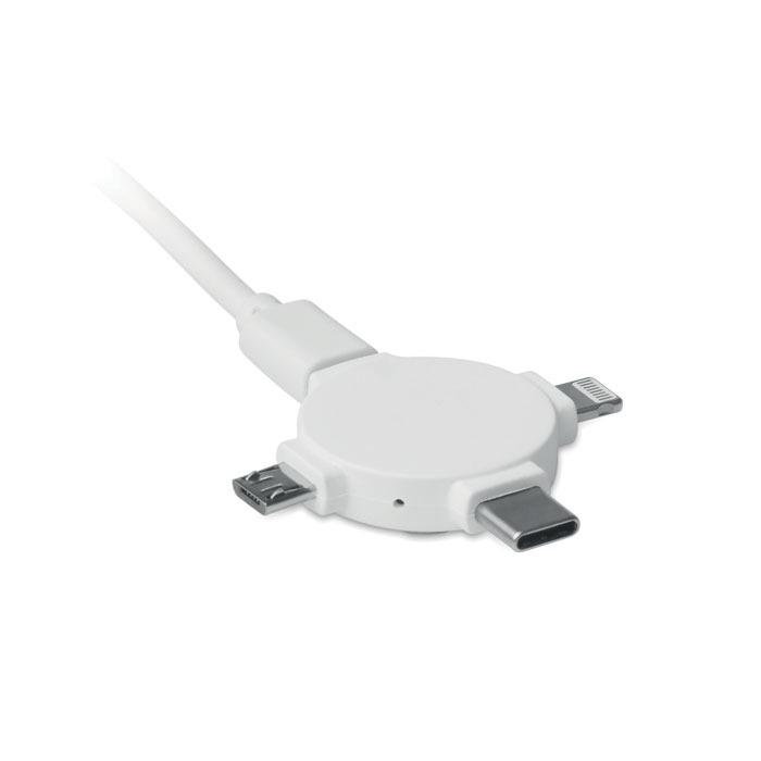 Adaptador con cable 3 en 1 - Ligo Cable