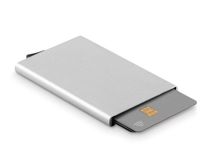 Porta-cartões RFID em Alumínio - Securpush