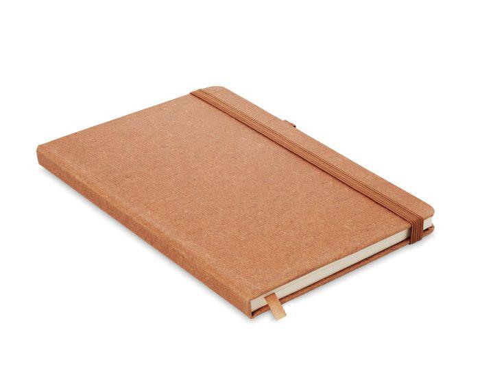 Caderno A5 Pautado PU Rec. - Baobab