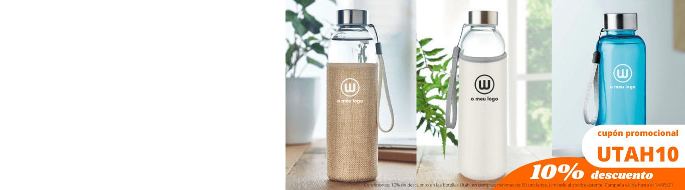 ¡Una botella que se adapta a su marca!