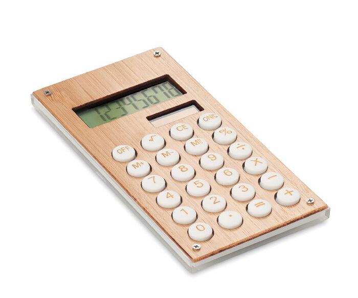 Calculadora Bambú de 8 Dígitos - Calcubam